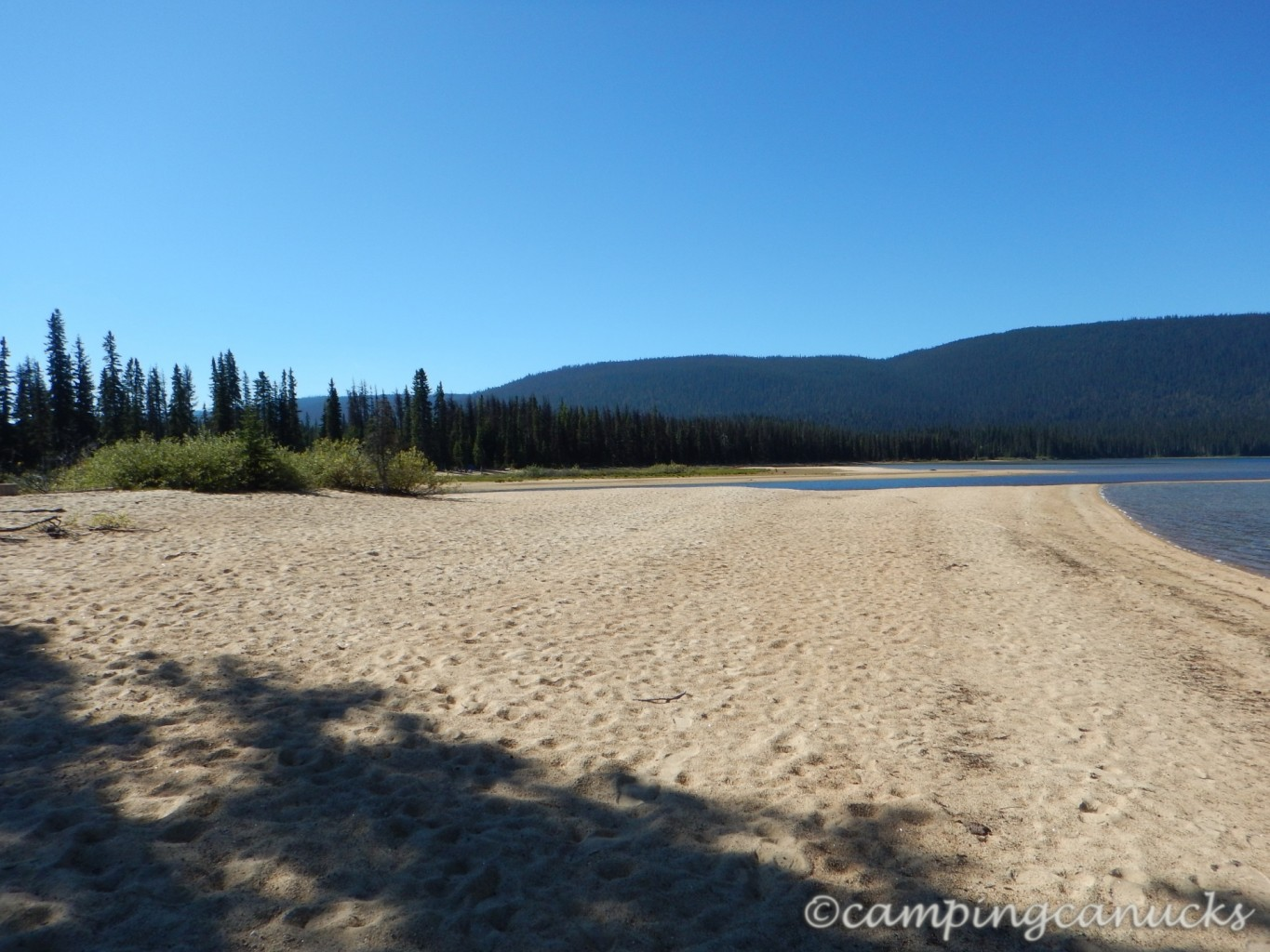 murtle lake wells gray provincial park the camping canucks