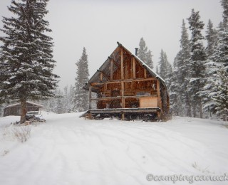 Ross Moore Lake Snowshoeing