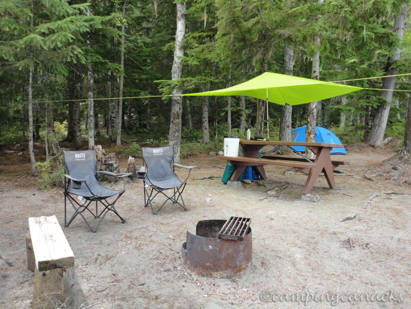 clearwater lake wells gray provincial park the camping
