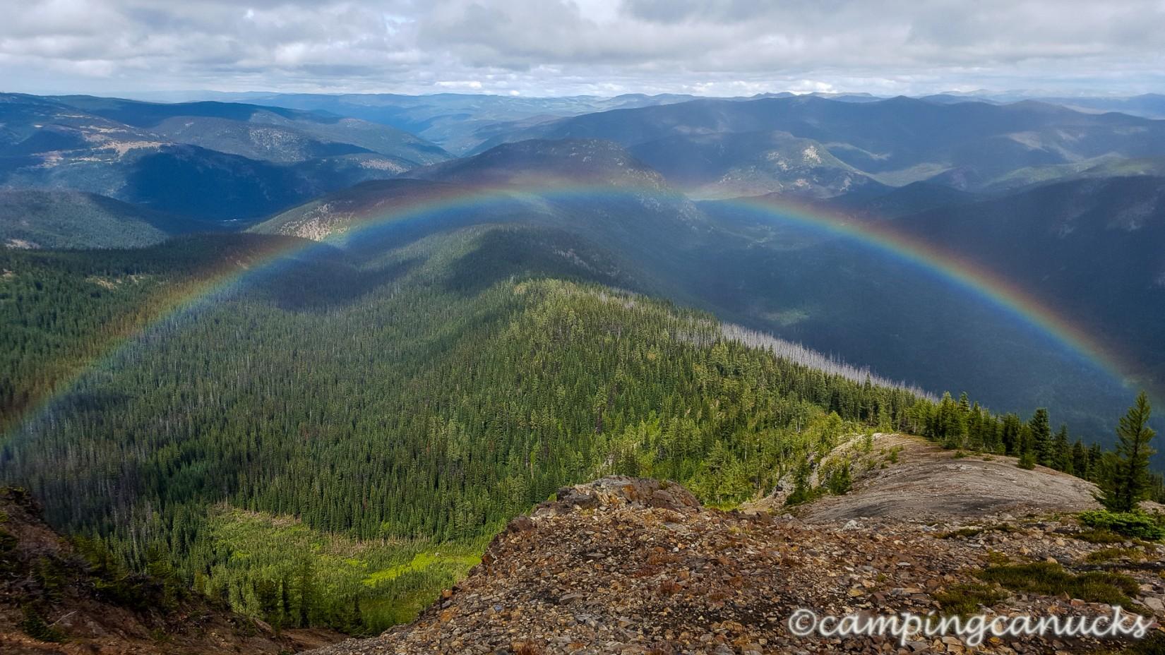 Vivid rainbow