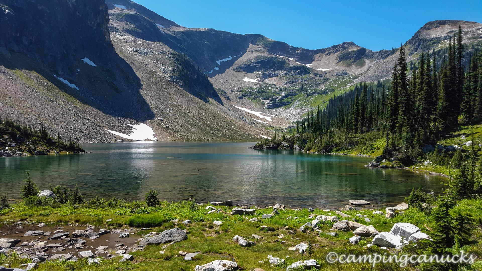 Jade Lakes Trail Mount Revelstoke National Park The