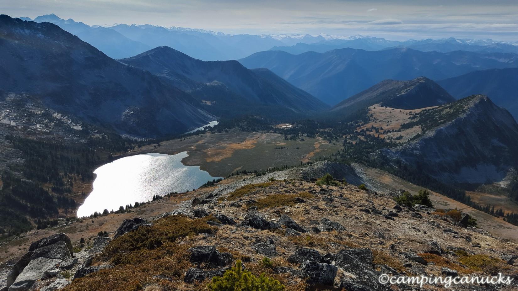 Brimful Lake below