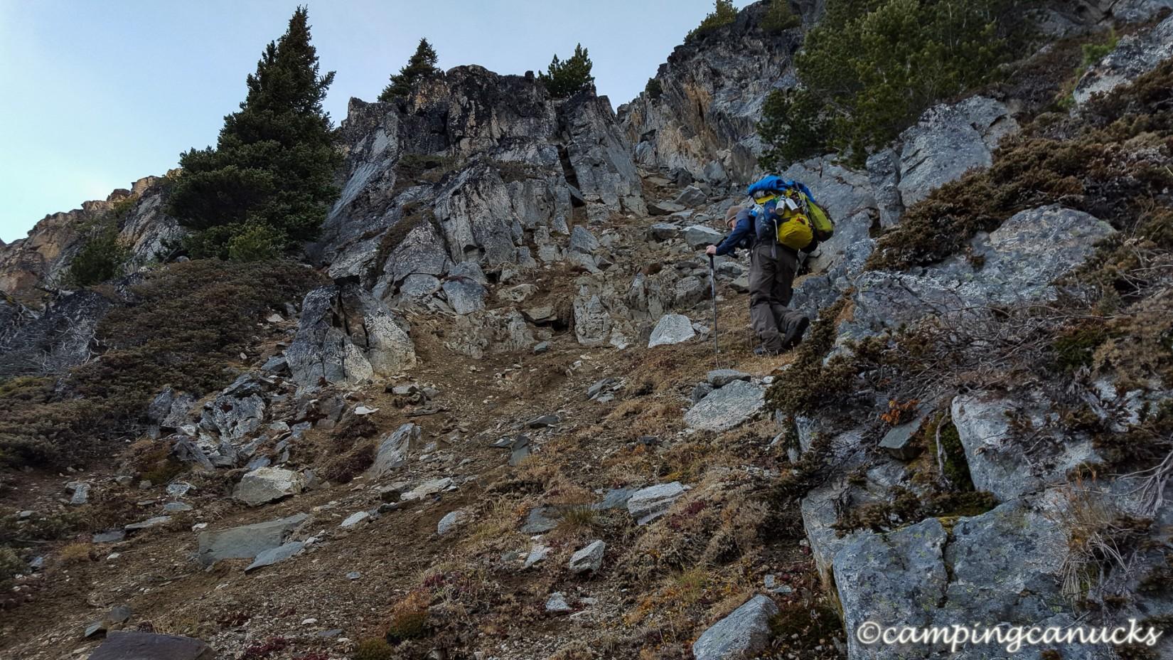 A steep approach
