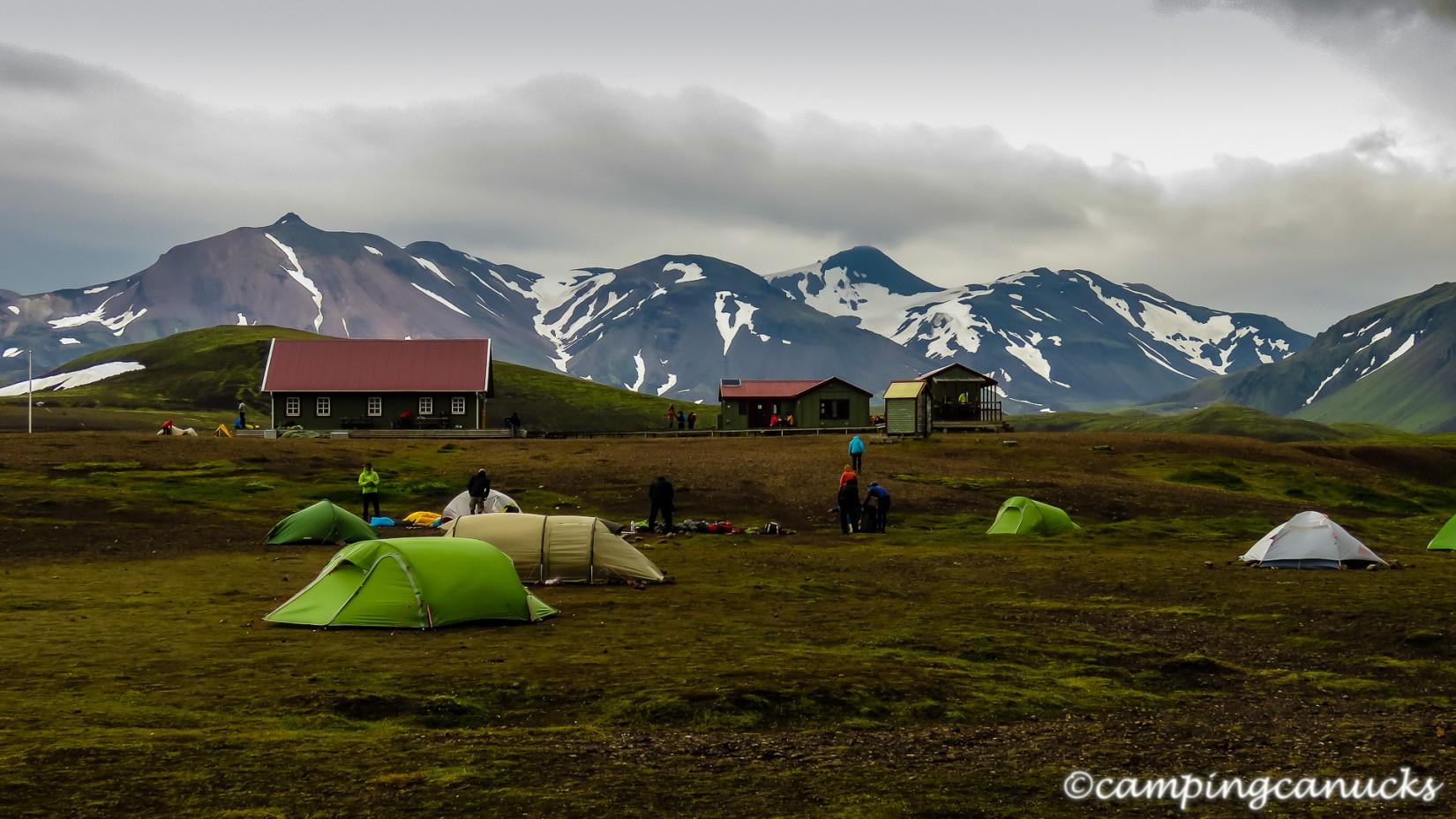 Álftavatn hut and camp