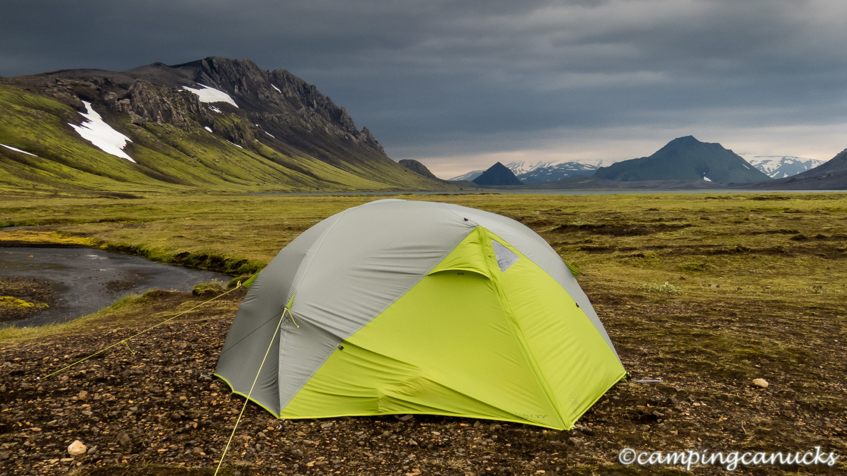 Camped out at Álftavatn