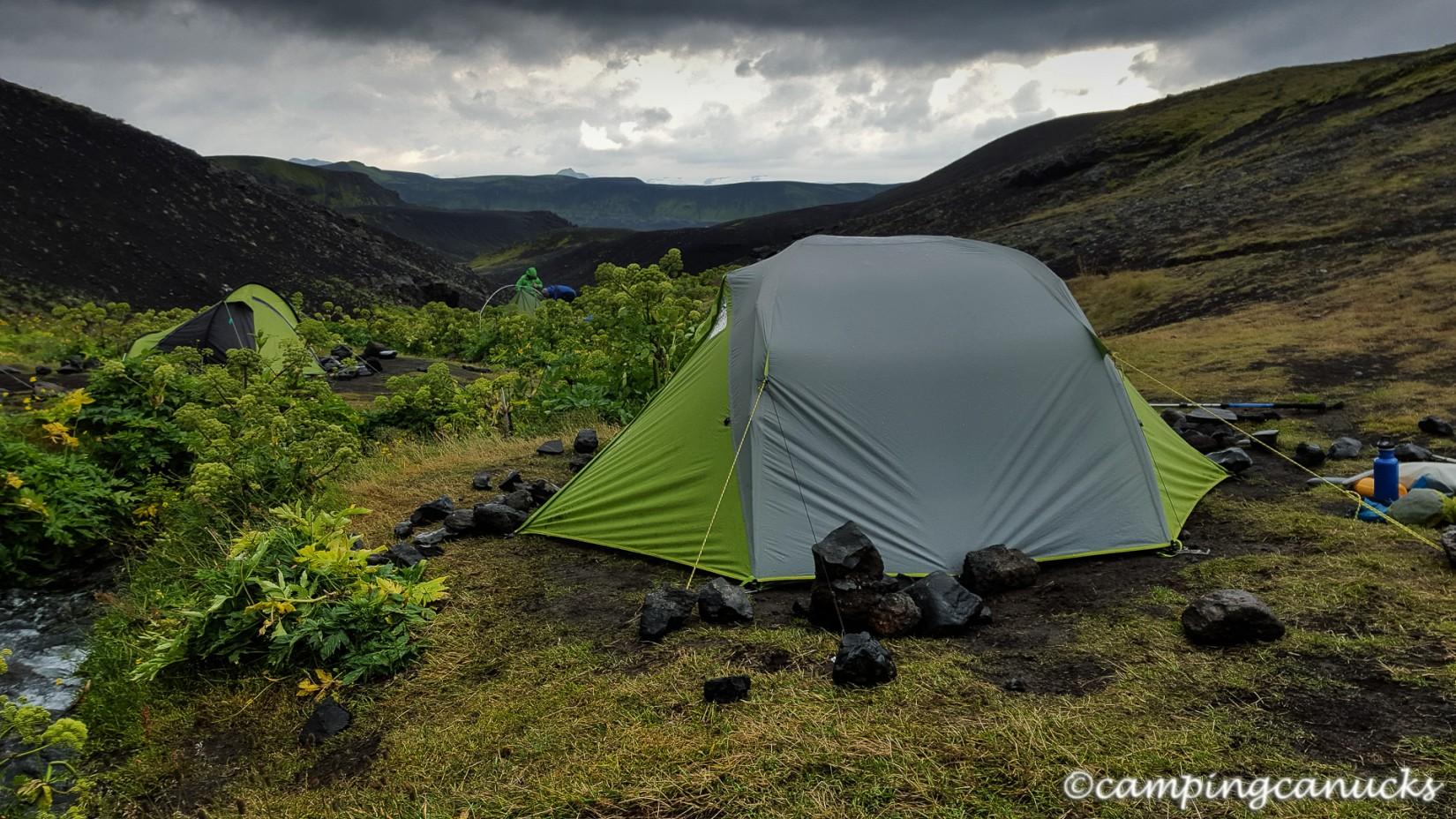 Camp at Emstrur/Botnar