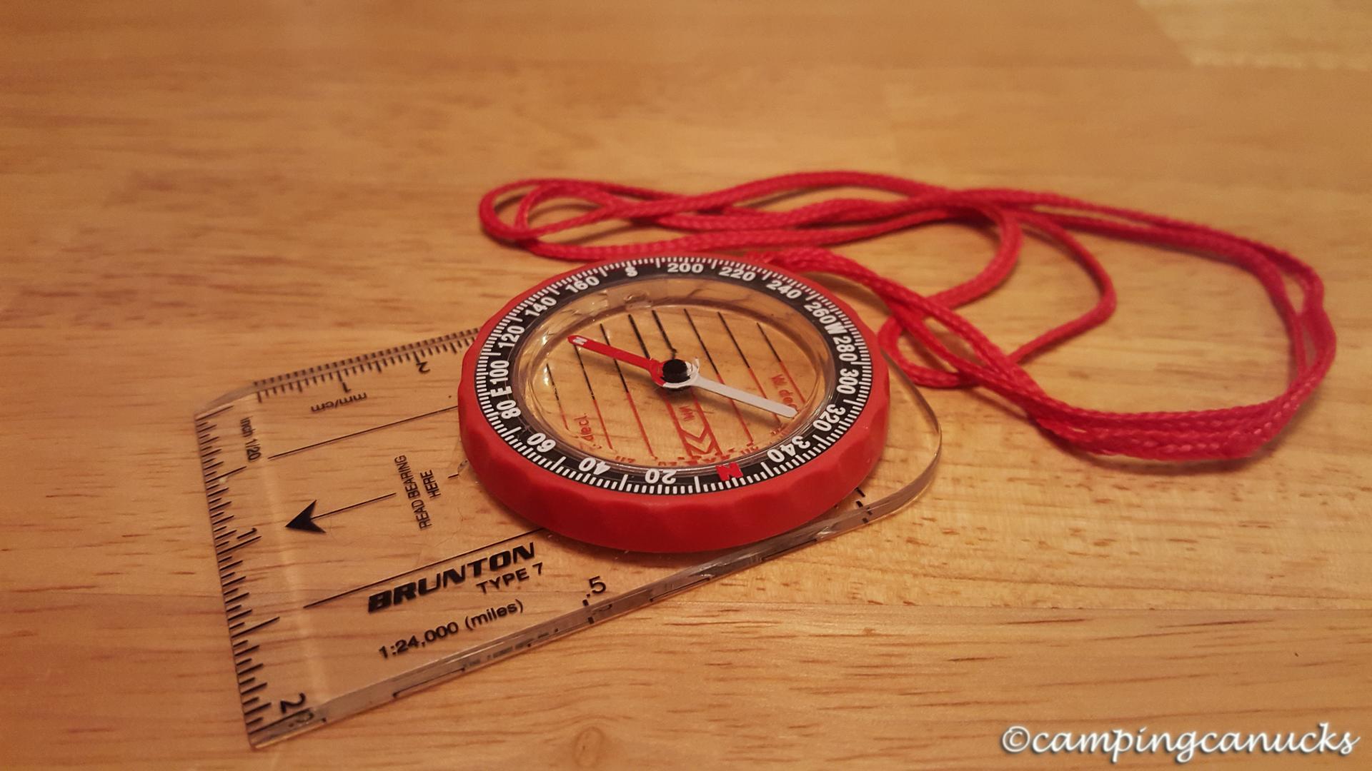 A basic compass