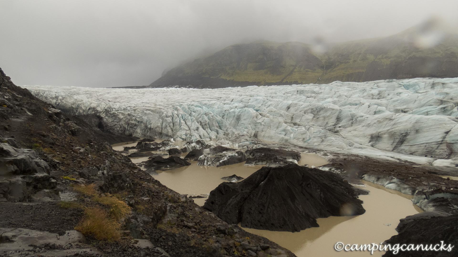 A glacier near Skaftafell