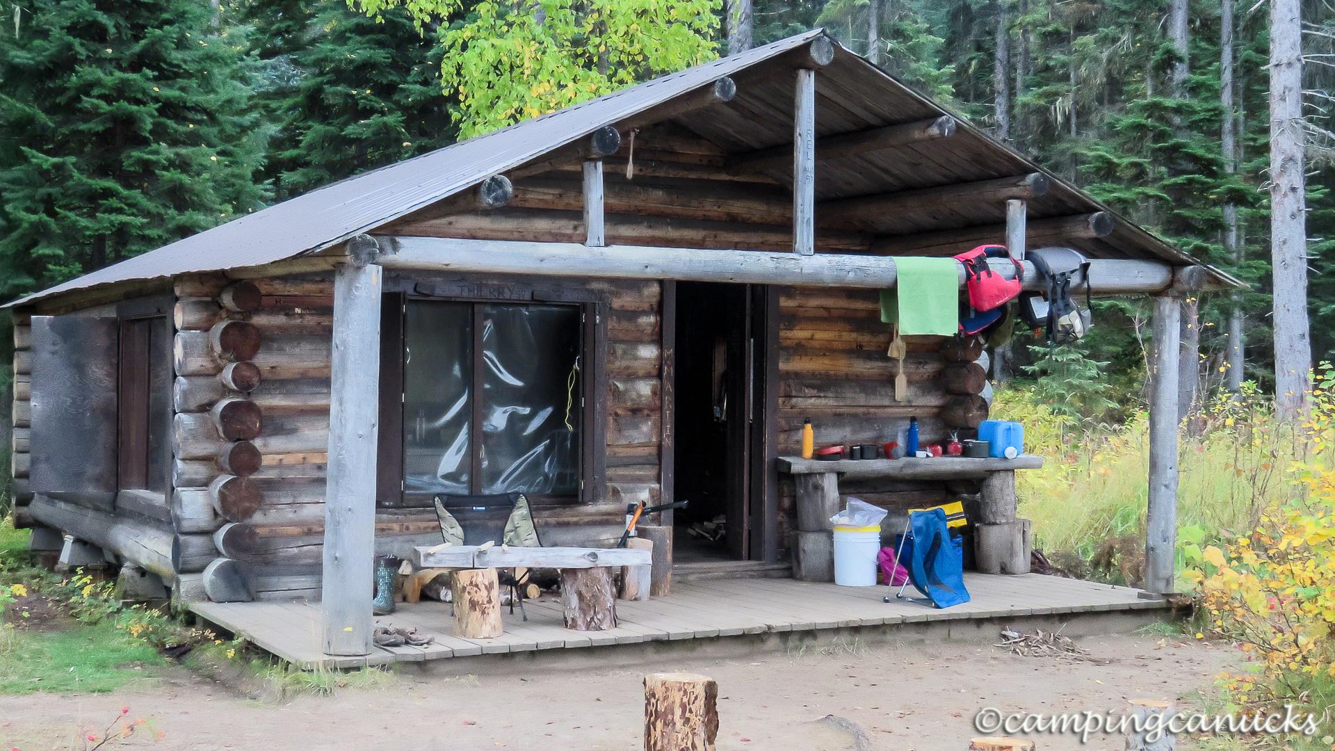 Bowron River cabin