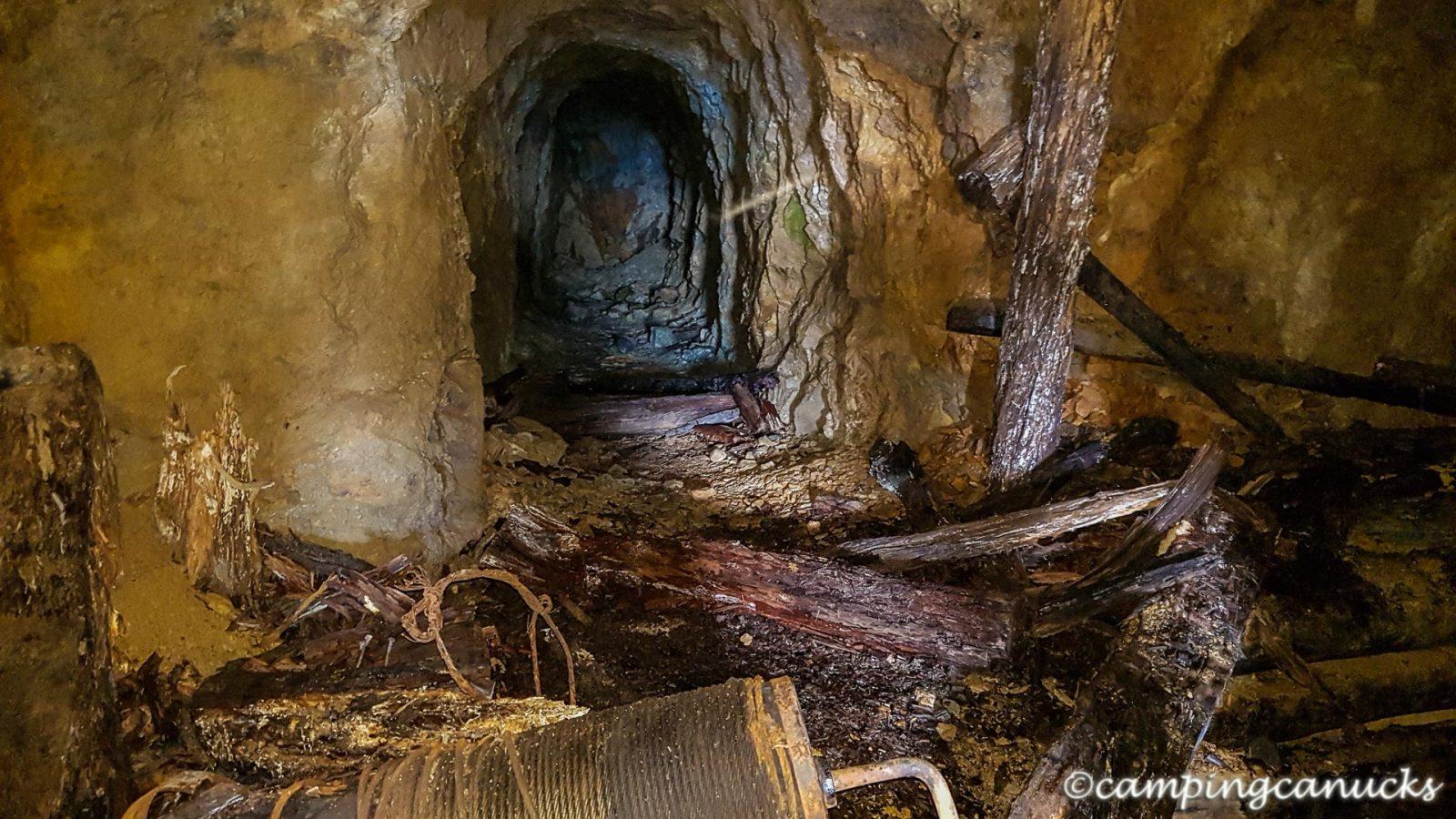 Peaking inside the old mine