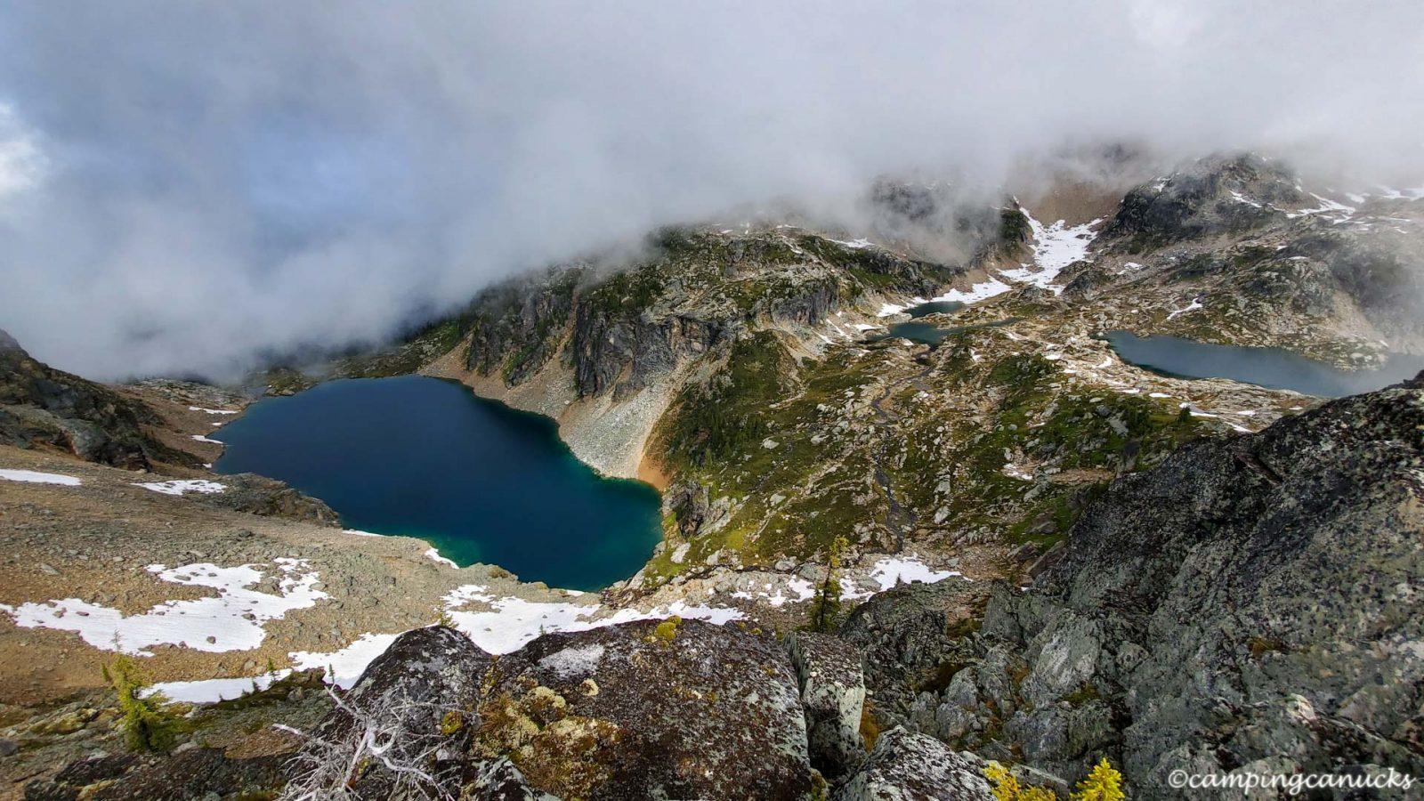 The alpine lakes